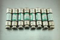 (8) Littelfuse Time Delay Dual Element 250Vac Fuse FLNR 8/10