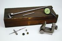 Federal Dial Indicator machinist Jig, wood storage box