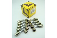 (9) Lawson 5/16 x 3/8 Hydraulic Fitting DOT Sae45 Female Swivel 26917