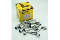 (10) Lawson 5/16 x 3/8 Hydraulic Fitting DOT JIC37 Female Swivel 26911