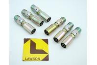 (6) Lawson 3/8x1/2 Hydraulic Fitting Male Pipe Swivel 88270