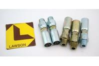 (5) Lawson 3/8x3/8 Hydraulic Fitting Male Pipe Swivel 88269