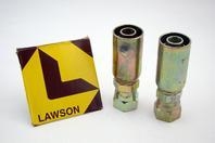 (2) Lawson Weatherhead JIC Straight Hose Fitting Hydraulic Fitting 88365