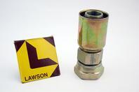 Lawson 1-1/4 x 1-1/4 Hydraulic Crimp Fitting Female Swivel JIC37 88377