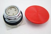 "Square D Red 2-1/4"" Diameter Mushroom Button Operator Class 9001 65097-049-01"