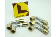 (5) Lawson Weatherhead Hydraulic Hose Fitting, Crimpable 06E-668