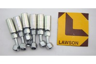 (6) Lawson Weatherhead Coll-O-Crimp hydraulic hose end 04U-685