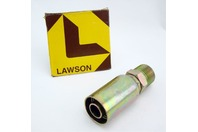 "Lawson Weatherhead Male Pipe Rigid Fitting 3/4"" Hose ID, 3/4"" NPT 12U-112"