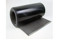 Ammeraal Beltech 39ft Flexam Black PVC Wonder/Hostess Conveyor Belt SS Staple Lace
