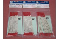 """(3 packs) Brady Clip-Sleeve 5 1/2"""""""" Wire Markers SCN-10-2"""