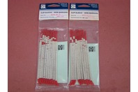 """(2 packs) Brady Clip-Sleeve 5 1/2"""""""" Wire Markers SCN-10-5"""