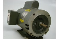 Baldor 1HP Industrial Motor 110/220v SINGLE PHASE 1425rpm 91051768 M14B