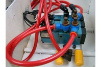Enclosure with mounteed MAC Solenoid Valve 811C-PM-XX2BA-152