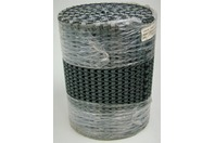 "Plastic Conveyor Belt M1230 Flush Grid Acetal Dark Gray 9.8"" x 10'"