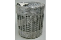 "Plastic Conveyor Belt M2511 Mesh Top Polypropylene Gray 9.8"" x 10'"