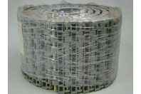 "Plastic Conveyor Belt M2670 High Grip Top Polypropylene Gray 6"" x  10'"