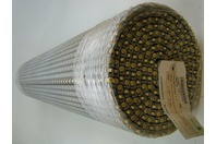"Habasit Conveyor Belt M1230 Flush Grid Polypropylene Gray 38.7"" x 10'"