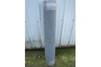 "Habasit Conveyor Belt M1233 Flush Grid Polypropylene Gray 47.8"" x 10'"