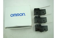 (3) Omron A-20GV-B7-K Snap Switch Hinge Lever