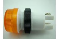 Ledtronics BS859CY3K 24V Amber Light