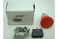 Schneider Electric Push Button with Contact Block ZBE-102