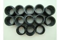 (61 pcs) Heyco SB-1.500-21 BLACK SNAP BUSHINGS