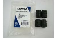 (4 pcs) Radnor 64002702 Mig Products 32 Nozzle Insulator 250AMP