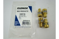 (2 pcs) Radnor 64002913 Mig Products 169716 Tip Adapter Miller M15