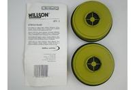 (2 pair) Willson Respirator Cartridge GT08 Uni-Sorb
