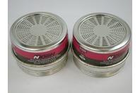(1 Pair) MSA Nosh 4006 Combination Cartridge GMA-P100-P100/0V 814923