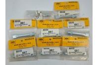 """(Qty 8) CRL Newborn Slot End Caulk Nozzle 1/8 x 9/16 x 3"""" KM17 SQ-50"""