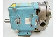 Waukesha  Positive Displacment Stainless Steel Pump Sanitary Tri-Clamp Connections , 030U2AP