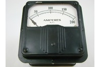 Amperes A.C. Voltage Meter 25-500 Cycles, 924