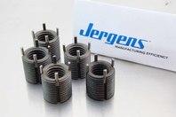 """(5) Jergens 5/8""""-11  Keylocking Thread Insert Industrial Style Carbon Steel 25908"""