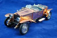 Franklin Mint Die Cast Model Car 1921 Rolls Royce Silver Ghost