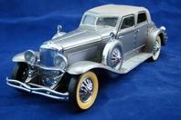 Franklin Mint Die Cast Model Car 1933 Duesenberg SJ Twenty Grand