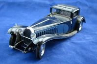 Franklin Mint Die Cast Model Car 1930 Bugatti Royale Coupe Napoleon