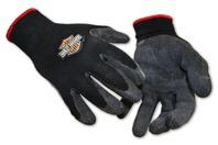 Harley Davidson Super Grip Rubber Coated Gloves Size: Large