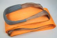 """12"""" x 12' Orange Heavy Duty Nylon Sling Tow Recovery Strap 24,000 lbs Single Ply"""