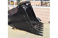 """54"""""""" Heavy Duty Excavator Bucket John Deere 200 (80mm PINS)"""