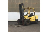 2000 Hyster 7500LB. Forklift Dual Tire Perkins Diesel H70XM