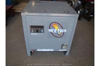 Power Factor, 24vDC Forklift Battery Charger 208/240/480 Single PhaseNPS12-600B