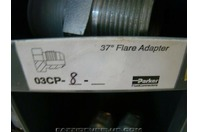 Parker Hydraulic Fitting 37 deg Flare Adapter 03CP-8