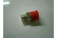 (4)Parker Hydraulic Fitting 37 deg Flare Adapter 0103-8-6