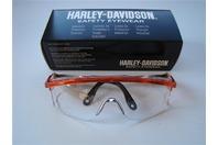 Case 10 PCS. Harley-Davidson Clear Saftey Glasses HD200