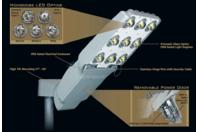 "Holophane Mongoose 7 LED Roadway/Area Light 120v-277v 2"" Tenon MGLED74KASWLVGNL"