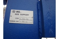 MG Plate Roller Hydraulic Side Arm Support 8,800 LBS. Capacity
