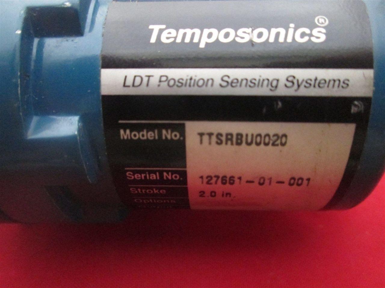 Mts Ttsrbu0020 Temposonics Ldt Position Sensor Process