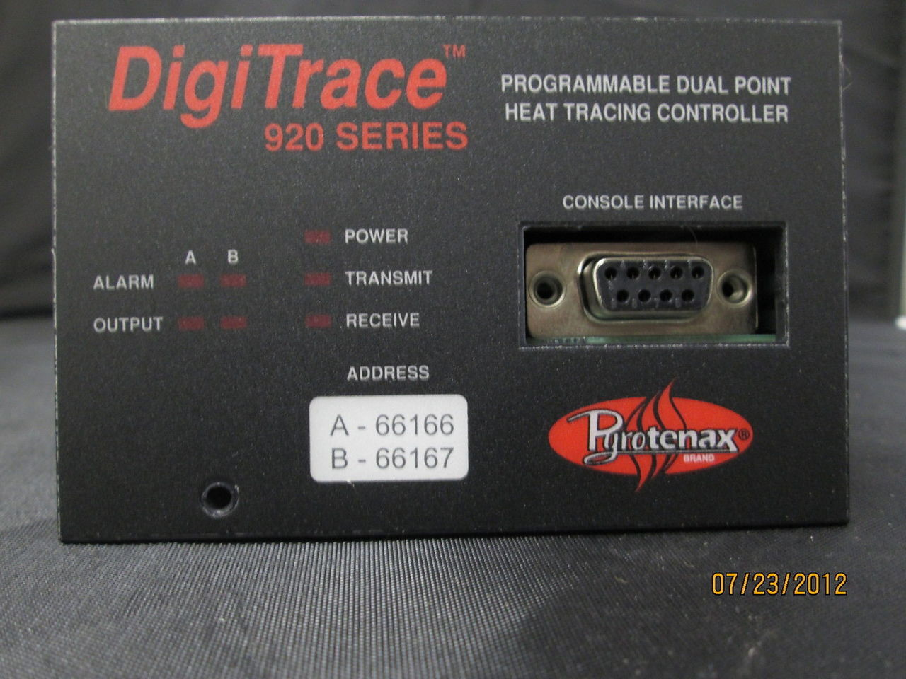 gt11261 pyrotenax digitrace heat trace controller 920 920htc new best 2223 heat trace thermostat, industrial chillers, ceiling heat trace controller wiring diagram at edmiracle.co