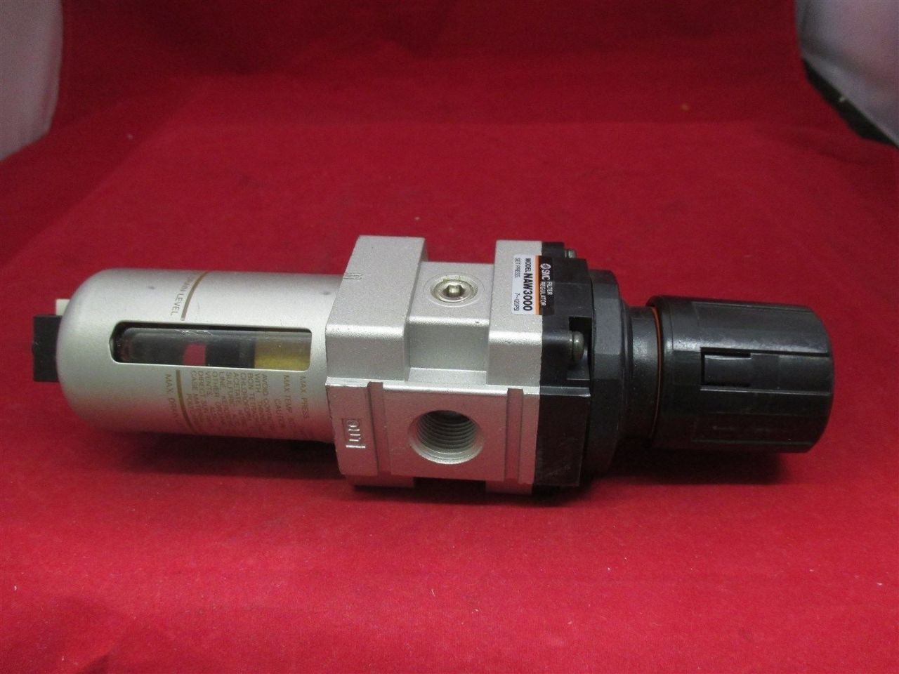 Smc Filter Regulator Naw3000 Process Industrial Surplus